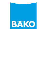 Baeko logo with claim negative 3